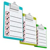 Clipboards — Stock Photo