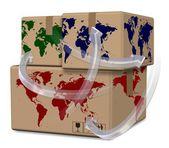 World distribution — Stock Photo
