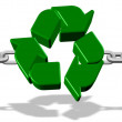 Recycle strong link — Stock Photo