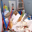 Stock Photo: Cleaning mess