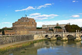 Ponte Sant Angelo — Stock Photo