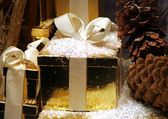 Christmas package — Stock Photo