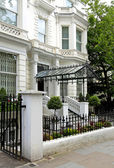 Residential house entrance — Stock Photo