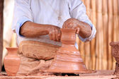 Pottery making — Stock Photo