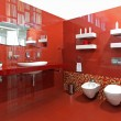 Bright bathroom — Stock Photo #15828975
