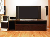 Entertainment unit — Stock Photo