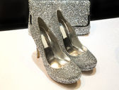 Sparkling shoes — Stock Photo