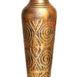 Ancient bronze vase — Stock Photo #17411665