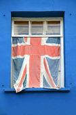 Fenster-flagge — Stockfoto