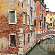 House corner Venice — Stock Photo