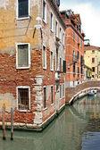 Casa esquina venecia — Foto de Stock