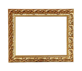Gold old frame — Stock Photo