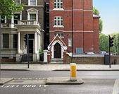 London house — Stock Photo