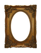 Gold decorative frame — Stock Photo