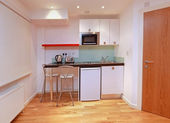 现代小厨房 — 图库照片