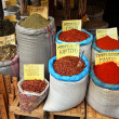 Stock Photo: Spices market