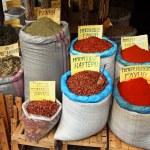 Spices market — Stock Photo