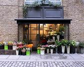 Çiçekçi dükkanı — Stok fotoğraf