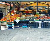 Organic market — Stock Photo