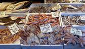 Fisch und meeresfrüchte — Stockfoto