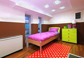 Barn sovrum små — Stockfoto