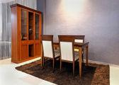 Retro dining room — Stock Photo