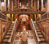 Basílica de santa maira maggiore — Foto Stock