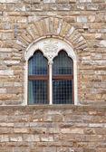 Fönstret sten — Stockfoto