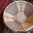 Rattan dish — Stock Photo