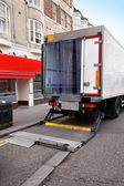 Truck door — Stock Photo