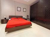 Dormitorio grande — Foto de Stock