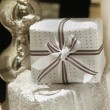 Stock Photo: White gift