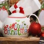 Christmas basket — Stock Photo #31727307