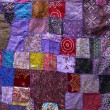 Patchwork textile — Stock Photo