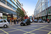Oxford Street traffic — Stock Photo