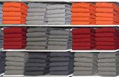 Clothes shelf — Stock Photo