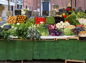 Green market stall — Photo