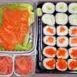 Stock Photo: Sushi takeout