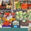 Foto Stock: Vegetable stall