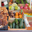 Stock Photo: Crates market