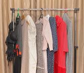 Dresses hangers — Photo