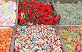 Candy market — Stock Photo
