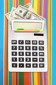 Calculator money — Foto Stock