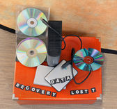 Lost data recovery — Stock Photo