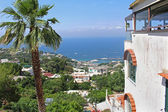 Capri view — Stock Photo