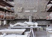 Enyesado de Pompeya — Foto de Stock