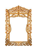 Frame decorative gold — Stock Photo