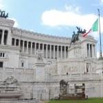 Vittorio Emanuele II monument — Stock Photo #51619611