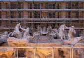 Trevi under renovation — Stock Photo
