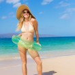Young Woman at the Beach — Stock Photo #13987756